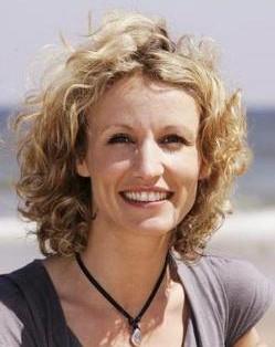 Una foto dell'attrice Alexandra Lamy