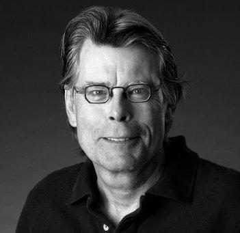 Lo scrittore americano Stephen King