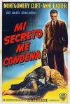 Locandina spagnola del film Io confesso ( 1953 )