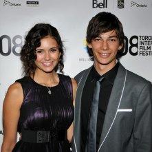 Nina Dobrev e Devon Bostick alla premiere del film 'Adoration' al Toronto International Film Festival, l'8 Agosto 2008