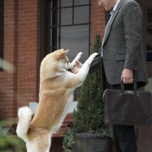 Richard Gere nel film Hachiko