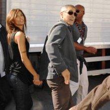 Sulmona: George Clooney ed Elisabetta Canalis sul set di A Very Private Gentleman