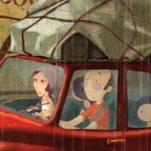 Una immagine del film d'animazione Nat e il segreto di Eleonora
