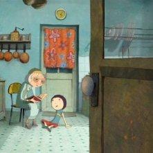 Una immagine del film d'animazione Nat e il segreto di Eleonora (2009)