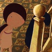 Una immagine del film d'animazione Nat e il segreto di Eleonora, in cartellone al Festival del Film di Roma 2009