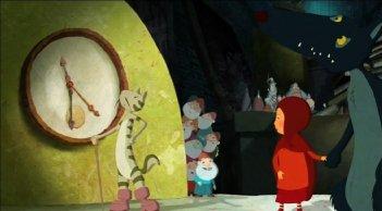 Una scena del cartoon Nat e il segreto di Eleonora, in cartellone al Festival del Film di Roma 2009