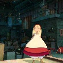 Una scena del film d'animazione Nat e il segreto di Eleonora