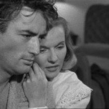 Gregory Peck con Ann Todd in una scena del film Il caso Paradine ( 1947 )