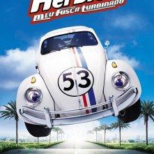 Il poster brasiliano di Herbie il supermaggiolino