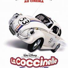 Il poster francese di Herbie il supermaggiolino