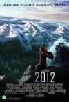 Poster italiano con il monaco tibetano per il disaster movie 2012