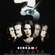 Il poster USA del film Scream 3