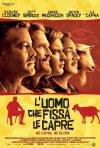 Locandina italiana di L'uomo che fissa le capre