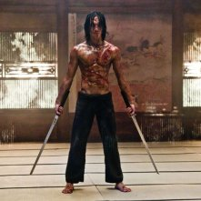 Rain in una scena del film Ninja Assassin