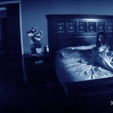 Una sequenza dell'horror Paranormal Activity