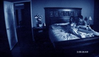 Una sequenza dell'horror Paranormal Activity