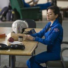 Aimee Garcia in una scena dell'episodio Bad Day at Work della serie Trauma