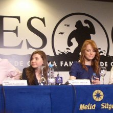 Il cast di Benvenuti a Zombieland in conferenza Festival internazionale del cinema fantastico, Sitges '09
