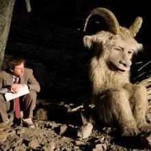 Il regista Spike Jonze sul set del film Nel paese delle creature selvagge di Spike Jonze