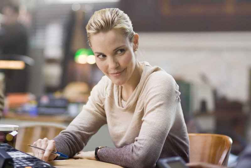 Leslie Bibb in una scena del film Law Abiding Citizen