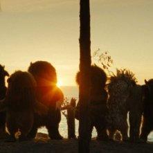 Un'immagine del film fantastico Nel paese delle creature selvagge, diretto da Spike Jonze
