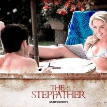 Un wallpaper del film The Stepfather con Amber Heard