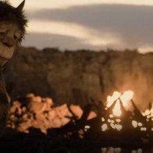 Una scena del film fantastico Nel paese delle creature selvagge di Spike Jonze