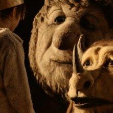 Una scena del film fantastico Nel paese delle creature selvagge, diretto da Spike Jonze