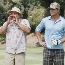 Brian Van Holt ed Ian Gomez nell'episodio You Wreck Me di Cougar Town