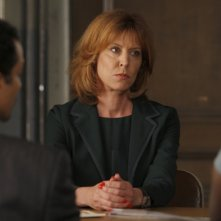 Christine Lahti in una scena dell'episodio Unstable di Law & Order: SVU