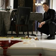 Gary Sinise in un momento dell'episodio Dead Reckoning di CSI New York