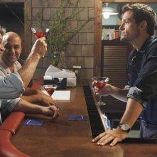 Josh Hopkins, Brian Van Holt ed Ian Gomez in un momento dell'episodio You Wreck Me di Cougar Town