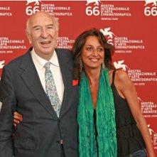 Venezia 2009: Francesca Muci e Giuliano Montaldo