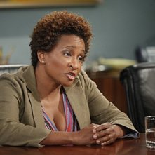 Wanda Sykes in una scena dell'episodio For Love or Money de La complicata vita di Christine