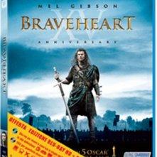 La copertina di Braveheart - Edizione 15° anniversario (blu-ray)