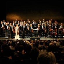 Un momento del film Il concerto