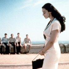Monica Bellucci in una scena del film Malèna