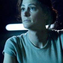 Vanessa James (Julia Anderson) in una scena dell'episodio Darkness di Stargate Universe