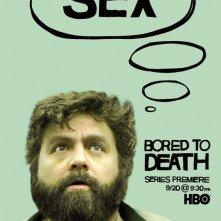 Bored to Death: Character Poster sul personaggio di Zach Galifianakis