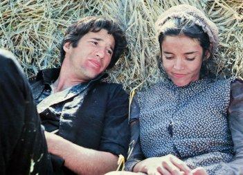 Richard Gere e Brooke Adams in una scena de I giorni del cielo