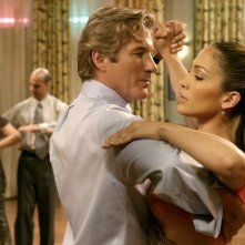 Richard Gere e Jennifer Lopez in una scena di Shall We Dance?