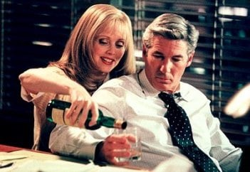 Richard Gere e Shelley Long in una scena di Dottor T e le donne