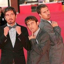Festival di Roma 2009: un red carpet 'goliardico' per il Trio Medusa, doppiatori di Astro Boy