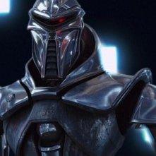 L'immagine di un centurione tratta dal film TV Battlestar Galactica: The Plan