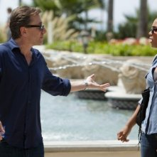 Lie to Me: Monica Raymund e Tim Roth nell'episodio Control Factor