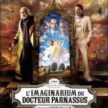 Poster francese per Parnassus - L'uomo che voleva ingannare il diavolo