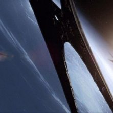 Un'immagine tratta dal film TV Battlestar Galactica: The Plan