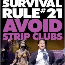 Un ironico educational poster per Zombieland - Survival Rule # 21