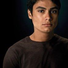 Una foto promozionale di Embry Call (Kiowa Gordon) per il film Twilight Saga: New Moon