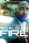 Una locandina di World on Fire
